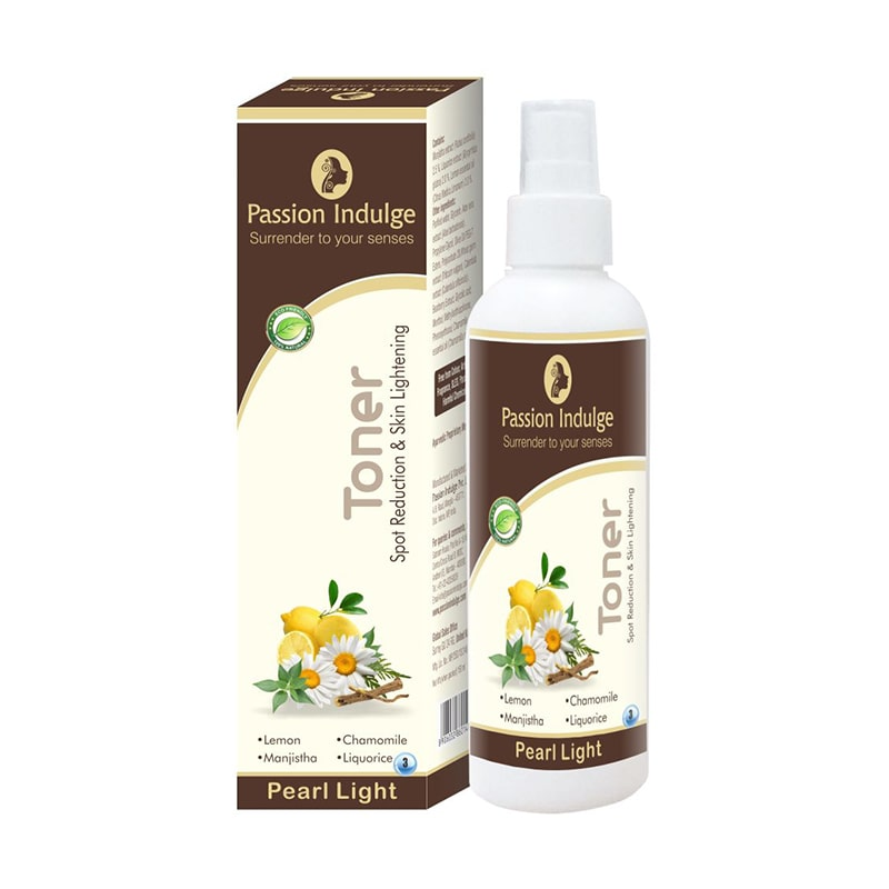Skin Whitening and Spot Reduction Pearl Light Toner - 150 Ml - Passion Indulge