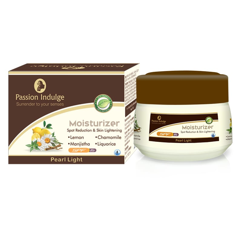 Skin Whitening and Spot Reduction Pearl Light Moisturizer - 50 Gm - Passion Indulge